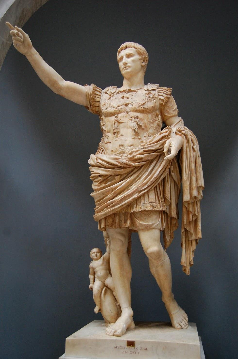 Augusto de prima porta la ciudad ideal for Augusto roma
